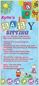#1 Best Babysitting Available 4 You Kitchener / Waterloo Kitchener Area image 1