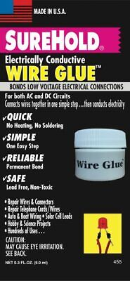 Surehold Electrically Conductive Wire Glue Low Voltage Connections Quick Repair