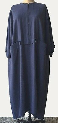 SALE!  NWT KEDEM SASSON  ZIPPER DRESS W/ POCKETS FOR 2017 GREAT LOOK O/S