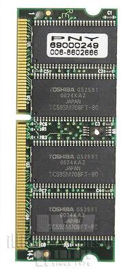 Memory Module; 128MB PC100 SDRAM SODIMM, 144PIN, 100 MHz 144 Pin Pc100 Sdram Sodimm