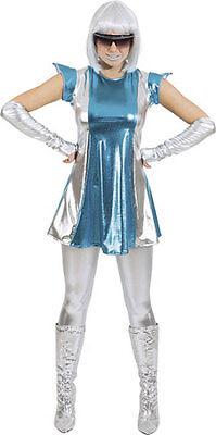 Sci-Fi Space Woman Damenkostüm NEU - Damen Karneval - Fi Kostüm
