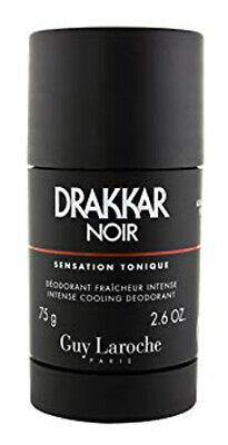 Drakkar Noir Deodorant Stick for Men by Guy Laroche 75 g / 2.6 oz - NEW Drakkar Noir Deodorant Stick