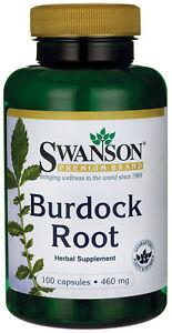 Burdock Root 460 mg x 100 Capsules Swanson