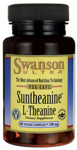 SWANSON ULTRA Suntheanine L-Theanine 100mg 60 capsules