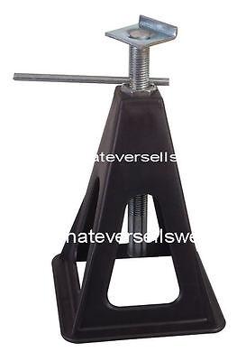 SET 4 x CARAVAN JACK STANDS use as stabilisers corner steady steadies motor home