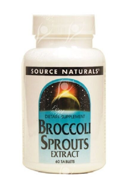 BROCCOLI SPROUTS EXTRACT 250mg x60tabs - QUICK DISPATCH