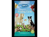 Wanted RSPCA trading cards