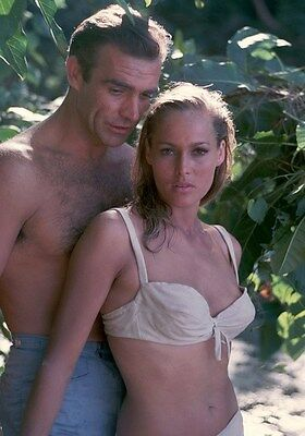 Movie PHOTO 8.25x11.75 James Bond 007 Dr No Sean Connery Ursula Andress 010