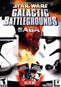 Star Wars Galactic Battlegrounds Saga+007 Nightfire+Indiana Jones Emperor's Tomb