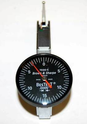 Brown Sharpe-tesa .030 X .0005grad. Bestest- 5 Series Dial Test Indicator