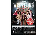 Wrestling in Comberton!