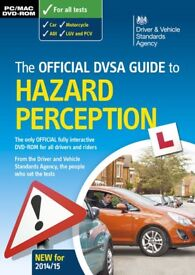 The Official DVSA Guide to HAZARD PERCEPTION (pc/mac dvd rom)
