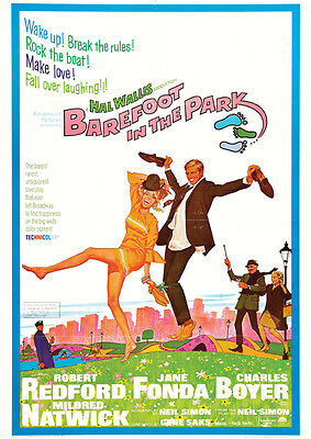 Barefoot In The Park Repro Film Poster