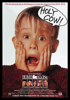 Home Alone Macauley Culkin Repro FILM Plakat ()