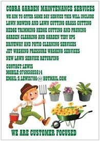 Cobra gardening services Provide a professional garden service & handyman services