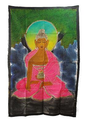 Batik Of Lord Buddha 115x 74cm Hanging Wall 08