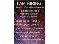 Avon reps required