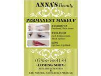 Permanent Makeup eyebrows/lips/eyeliner