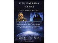 Star wars day Lowestoft may 6th