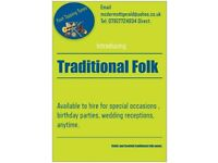 'tradition folk ' seeking a double bass player.