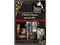Pazzo Tattoo's at Angelic Studio