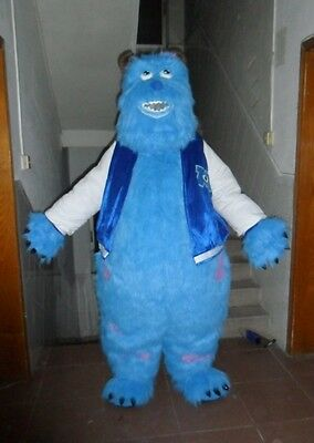 Monster Inc Adult Costume (2019 Monsters Inc Sully Mascot Costume Cosplay Halloween Party Adult Fancy)