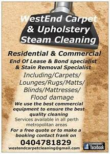 WestEnd Professional Carpet Steam Cleaning Fremantle Area Preview