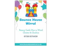 Bouncy Castle Hire Wirral From £35 weeknights after school