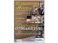 SS plastering services