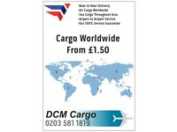 Door To DooAir Sea Cargo Pakistan India £5.00 Per Kg Parcel Excess Baggage Shipping Worldwide