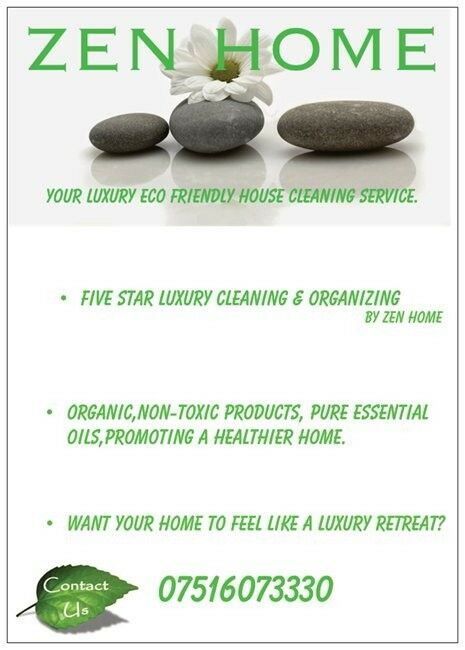 ZEN HOME - Your luxury organic cleaning service- by zen home