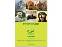 AtHome4Pets, caring for your animals at home.
