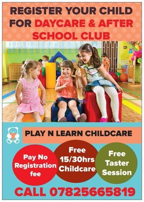 FREE CHILDCARE - T&C APPLIES