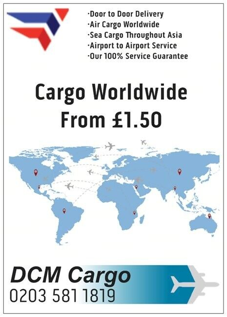 AIR SEA CARGO SHIPPING EXCESS BAGGAGE PARCEL COURIER DOOR TO