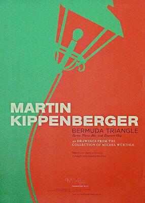 Martin Kippenberger: Bermuda Triangle, Plakat 2005