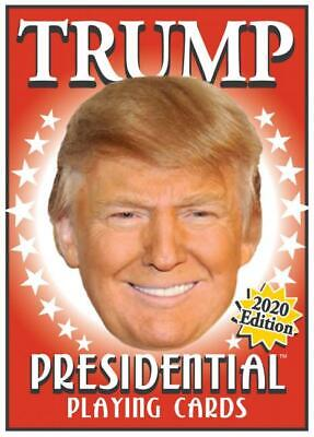 Playing Card Box (DONALD TRUMP PRESIDENTIAL PLAYING CARDS MAKE AMERICA GREAT NEW IN BOX 2020)