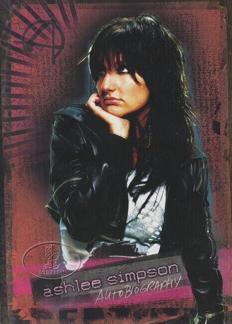 ASHLEE SIMPSON 2005 Tour Concert Program Tour Book