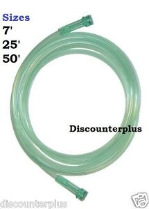 Oxygen-Tubing-7-25-50-Ft-Foot-Green-Clear-Tube-Supply-Medical-Air-Hose-Tube-New