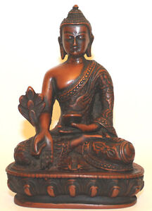 Resin medicine buddha statue home decor hand craved from for Home decor nepal
