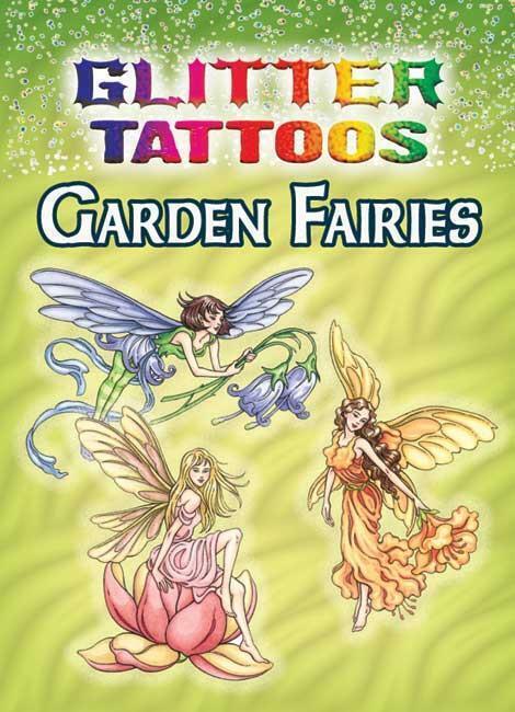Garden Fairies Glitter Tattoos Little Book Waterproof Designs Darcy May