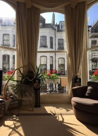 Large dbl sunny Victorian flat 7-Dials bills inc. VERY central, sea views - avail 31 AUG
