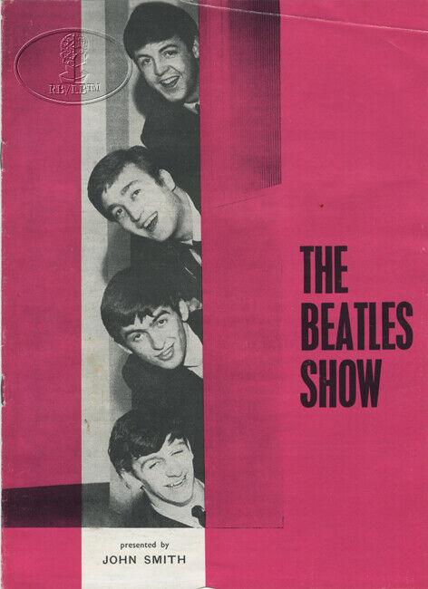 BEATLES 1963 UK Tour Concert Program Tour Book