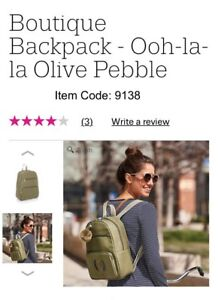 Thirtyone Back Pack, NEW in package. Olive