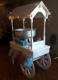 BRAND NEW CANDY CART for sale, candy cart, perfect for parties or weddings