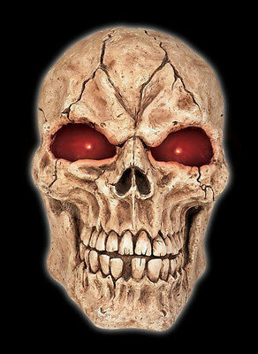 Giant Skull Halloween Prop (Giant Skull With LED Eyes & Sound - 21)