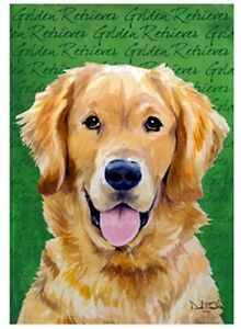 Golden Retriever Dog Garden Flag