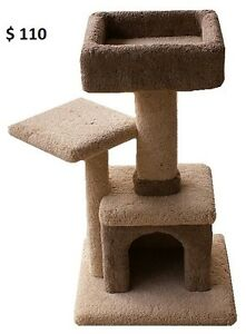 Cat Scratching Post And Cat Condos For Sale - New