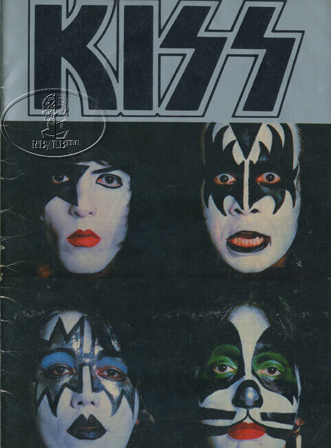 KISS 1979 DYNASTY TOUR Concert Program Tour Book Sunn Amp Gene Simmons