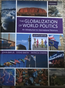 The globalization of world politics kijiji in ontario buy sell the globalization of world politics 7th edition fandeluxe Images