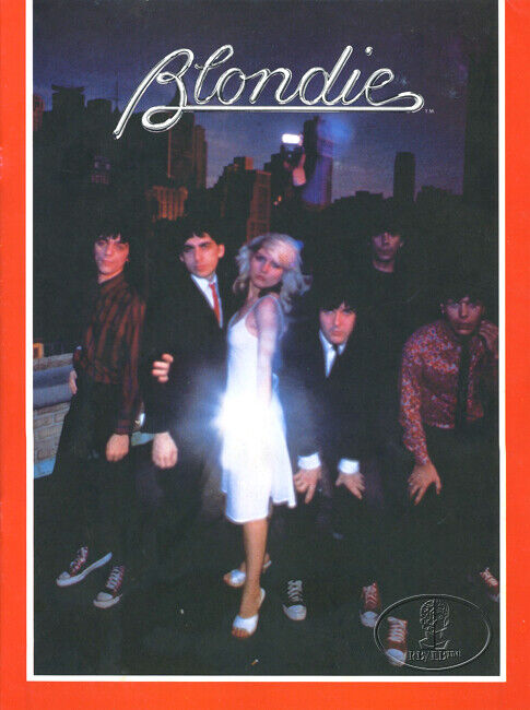 BLONDIE 1979 Parallel Lines Tour Concert Program Tour Book Deborah Harry